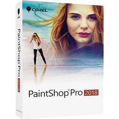 Corel PaintShop Pro 2018 - Software de gráficos (Plurilingüe, 1 licencia(s), Caja, Windows 10,Windows 10 Education,Windows 10 Education x64,Windows 10 Enterprise,Windows 10..., Win, 1000 MB)