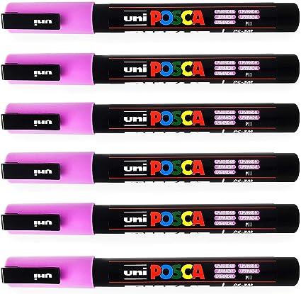 Uni Posca PC-3M Marcador Pintura Arte Plumas - 0.9-1.3mm - Lavanda ...