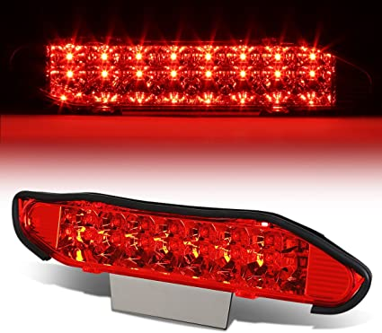 FOR 04-08 FORD F150 DUAL ROWS LED THIRD 3RD TAIL BRAKE LIGHT CARGO LAMP BAR RED