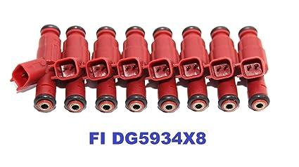 OEM Set Of 6 Fuel Injectors for Dodge Dakota Ram 1500 3.9L V6 0280155934