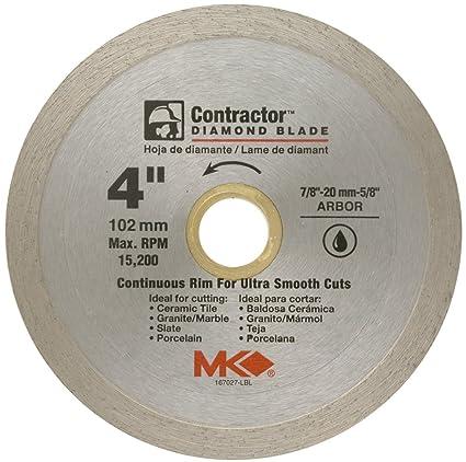 Continuous rim wet cut diamond blade miter saw blades amazon continuous rim wet cut diamond blade greentooth Choice Image