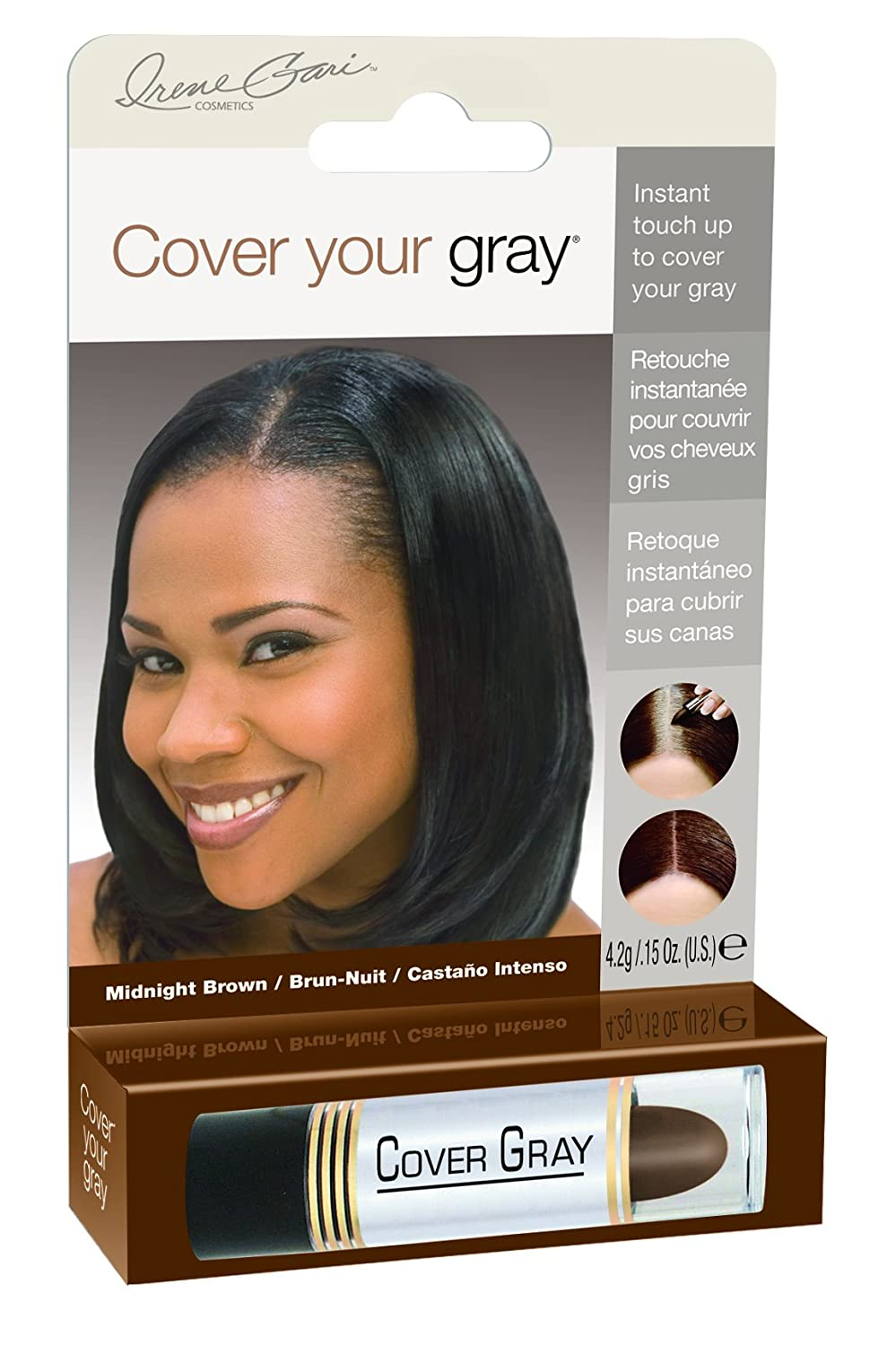 Cover Your Gray for Women Touch Up Stick Light Brown/Blonde, 0.15 oz Daggett & Ramsdell IG-LLB