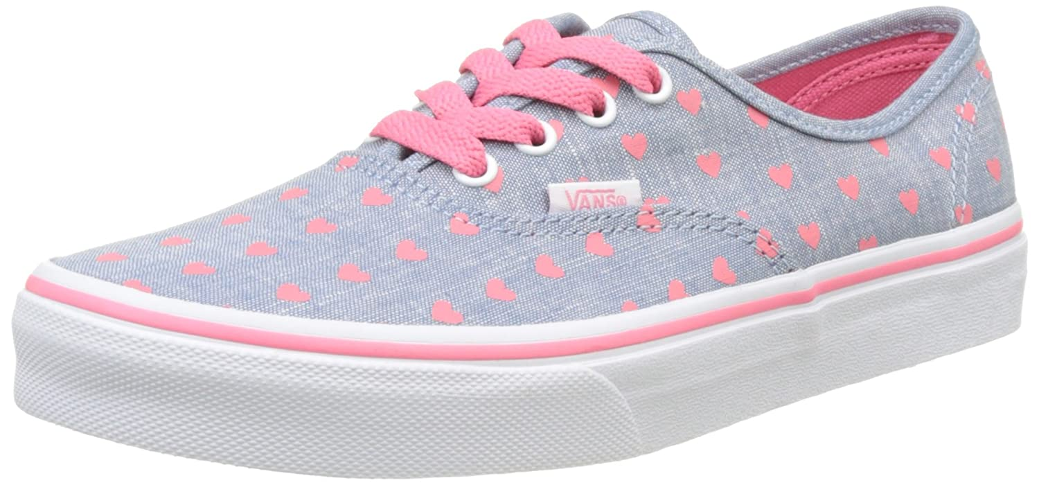 749f95e3dbec Vans Girls  Uy Authentic Low-Top Sneakers  Amazon.co.uk  Shoes   Bags