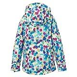 Burton Girls' Elodie Jacket, Rainbow Drops, Large