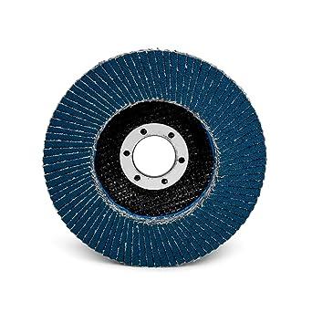 4-1//2 in x 7//8 in T29 80 grit 3M Flap Disc 577F Giant