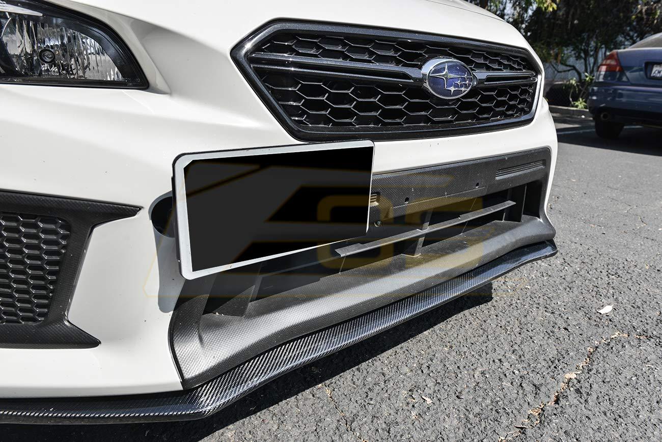 For 2018-Present Subaru Impreza WRX /& STi EOS V-LIMITED Style CARBON FIBER Front Bumper Lower Lip Splitter Under Spoiler