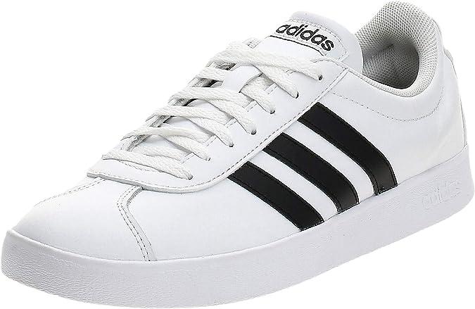 grado cigarrillo montículo  Amazon.com | Adidas Performance Vl Court 2.0 Mens Sneakers White |  Skateboarding