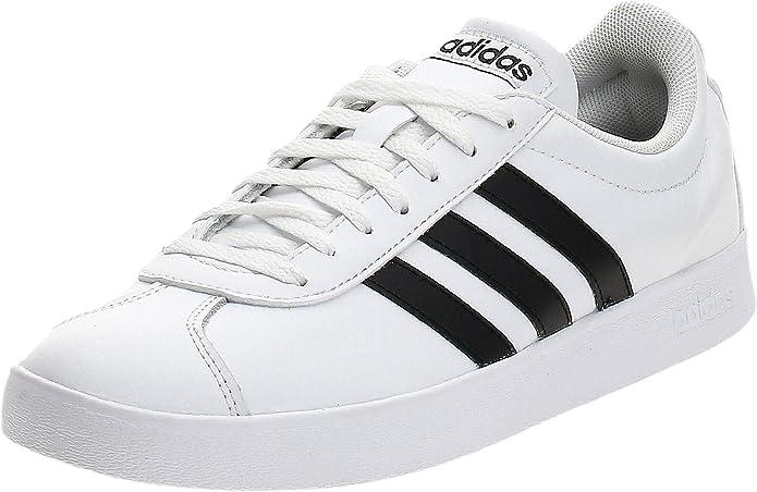 dominio Activo Cumplimiento a  Amazon.com   Adidas Performance Vl Court 2.0 Mens Sneakers White    Skateboarding