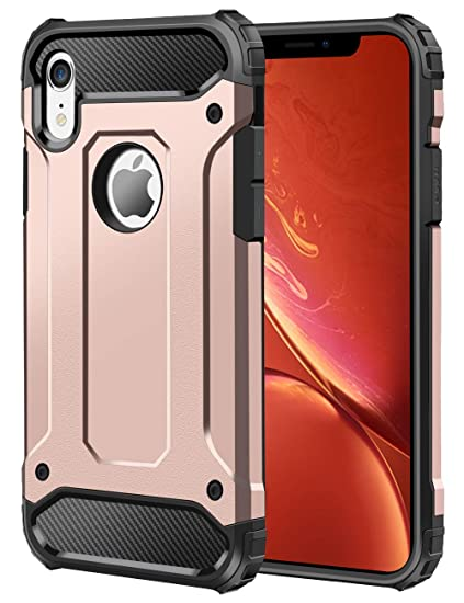hot sales 47952 18681 Wollony iPhone XR Case,Slim Heavy Duty Hybrid TPU + PC Drop Protection  Armor Case Rugged Anti Scratch Non-Slip Bumper Cover for iPhone XR 6.1 2018  ...