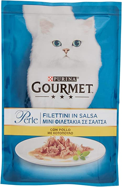 Gourmet Perle - Comida para Gatos, con Sabor a minifiletes en ...