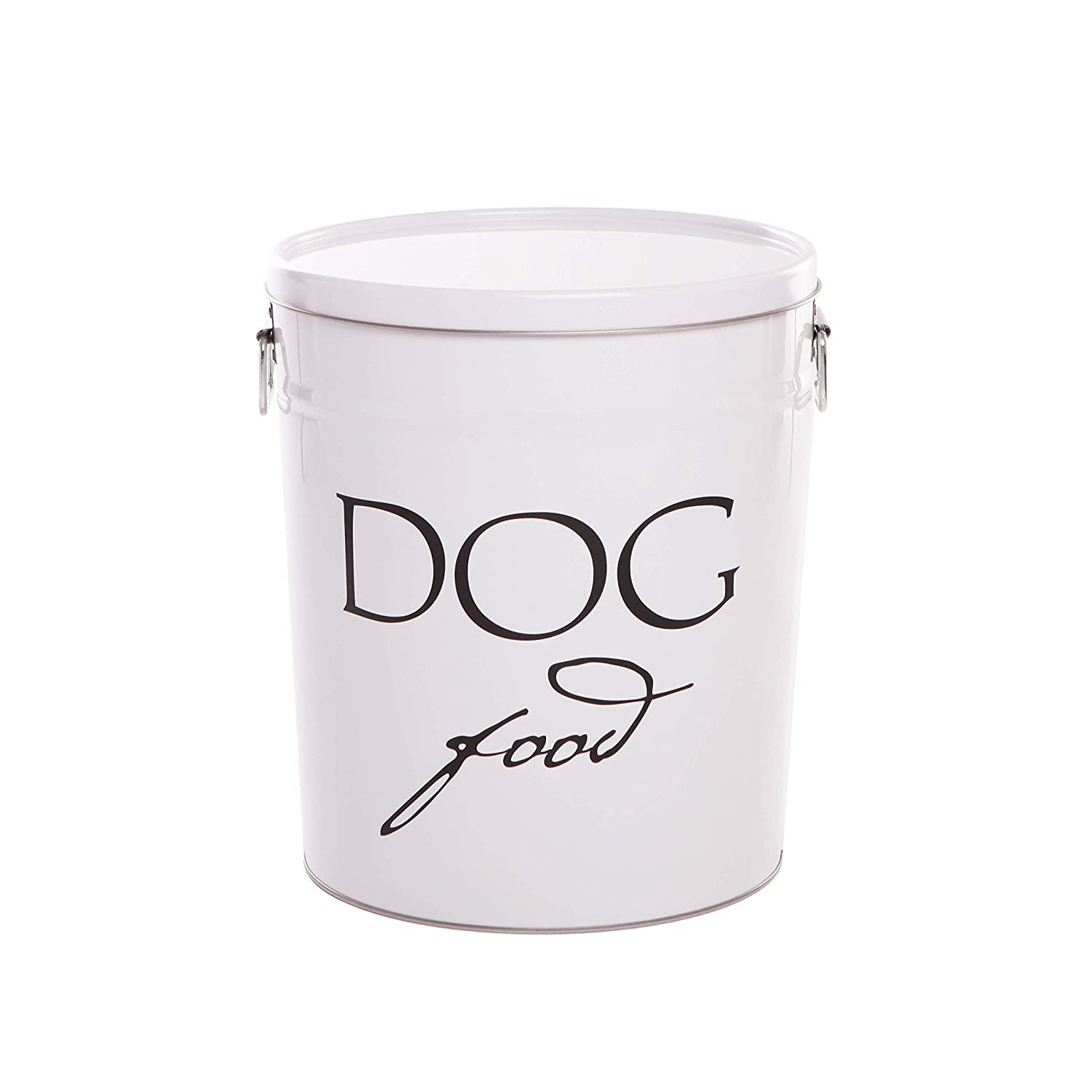 White Small (10lbs) White Small (10lbs) Harry Barker Dog Food Storage White 10 lb