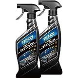 【徳用】テンジ ガラスクリーナー 2本セット [視界クリア 油膜うろこ取り 反射防止 拭き跡防止] ガラス洗浄剤 600ml Tenzi Detailer AD-33