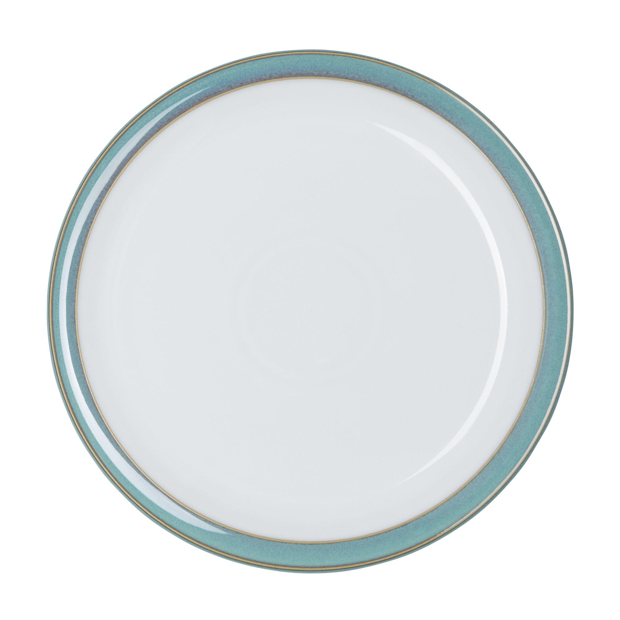 Denby Azure Dinner Plates, Set of 4