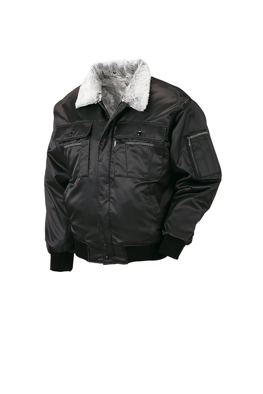 (ジーベック) XEBEC 光沢感のある素材 防寒着 防寒ブルゾン(215-xe) 【M~5Lサイズ展開】 B0179LER1U LL|ブラック