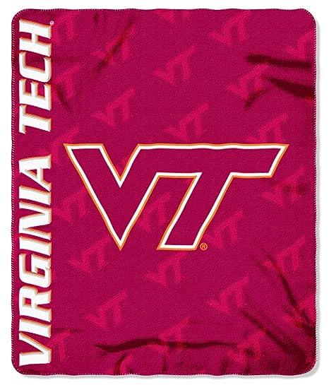 Decken & Inletts Officially Licensed Ncaa Virginia Tech Hokies Overtime Micro Raschel Throw Bl... Schlafausrüstung