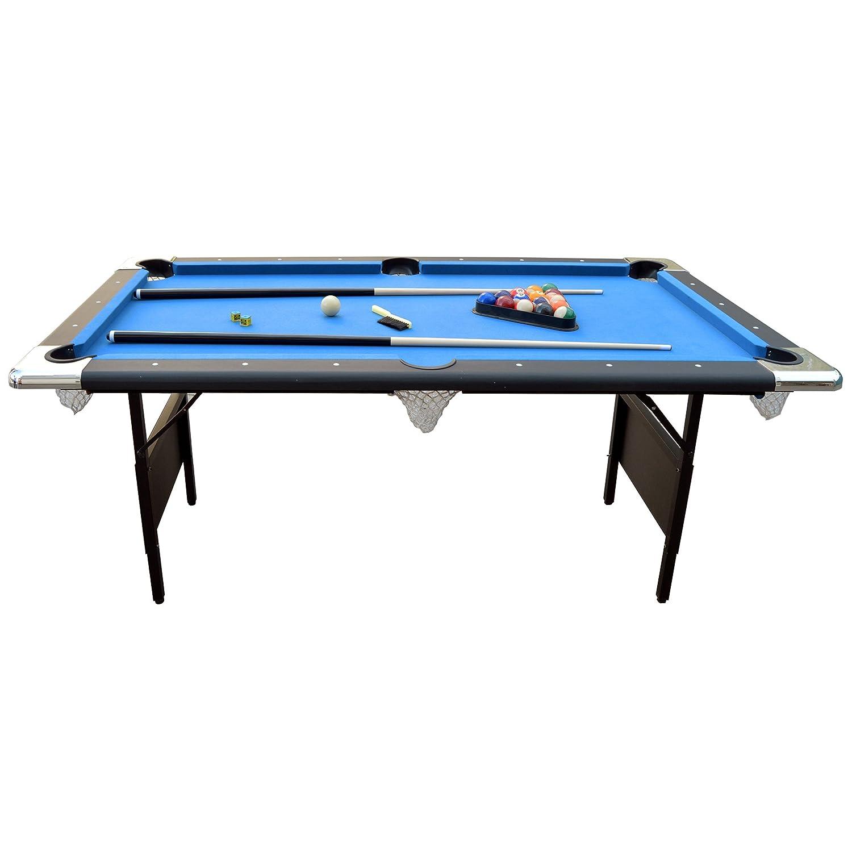 Amazon.com : Hathaway Fairmont 6u0027 Portable Pool Table : Sports U0026 Outdoors