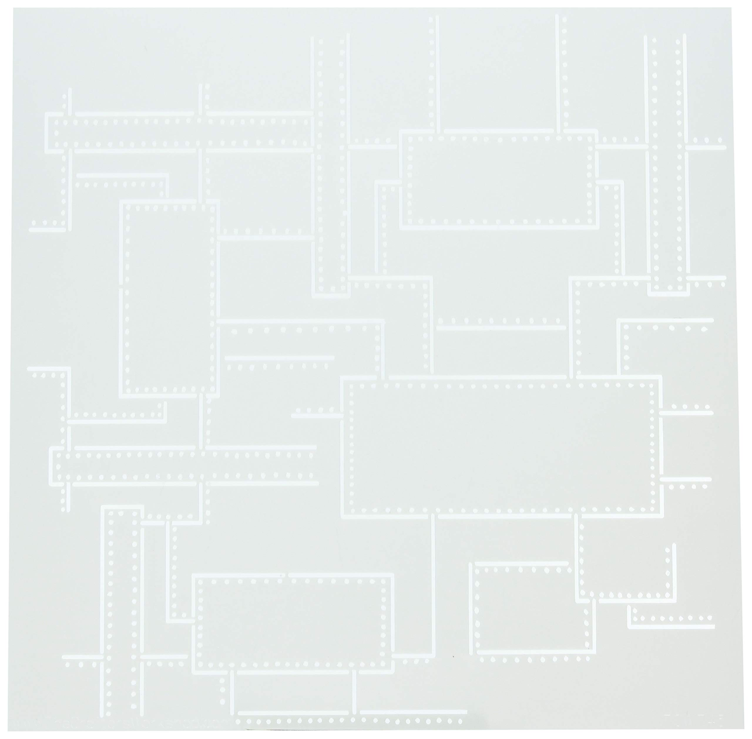 CRAFTERS WORKSHOP TCW745 Template 12''X12''-Riveted by CRAFTERS WORKSHOP