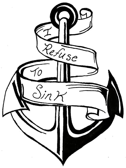 Buy Young Forever Inspirational Collection I Refuse To Sink