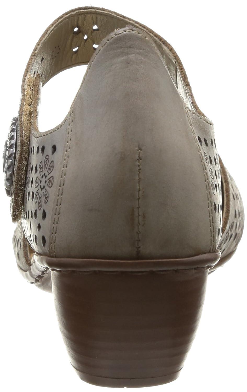 Rieker 43711-62, Scarpe col Tacco con con con Cinturino a T Donna aa00c4