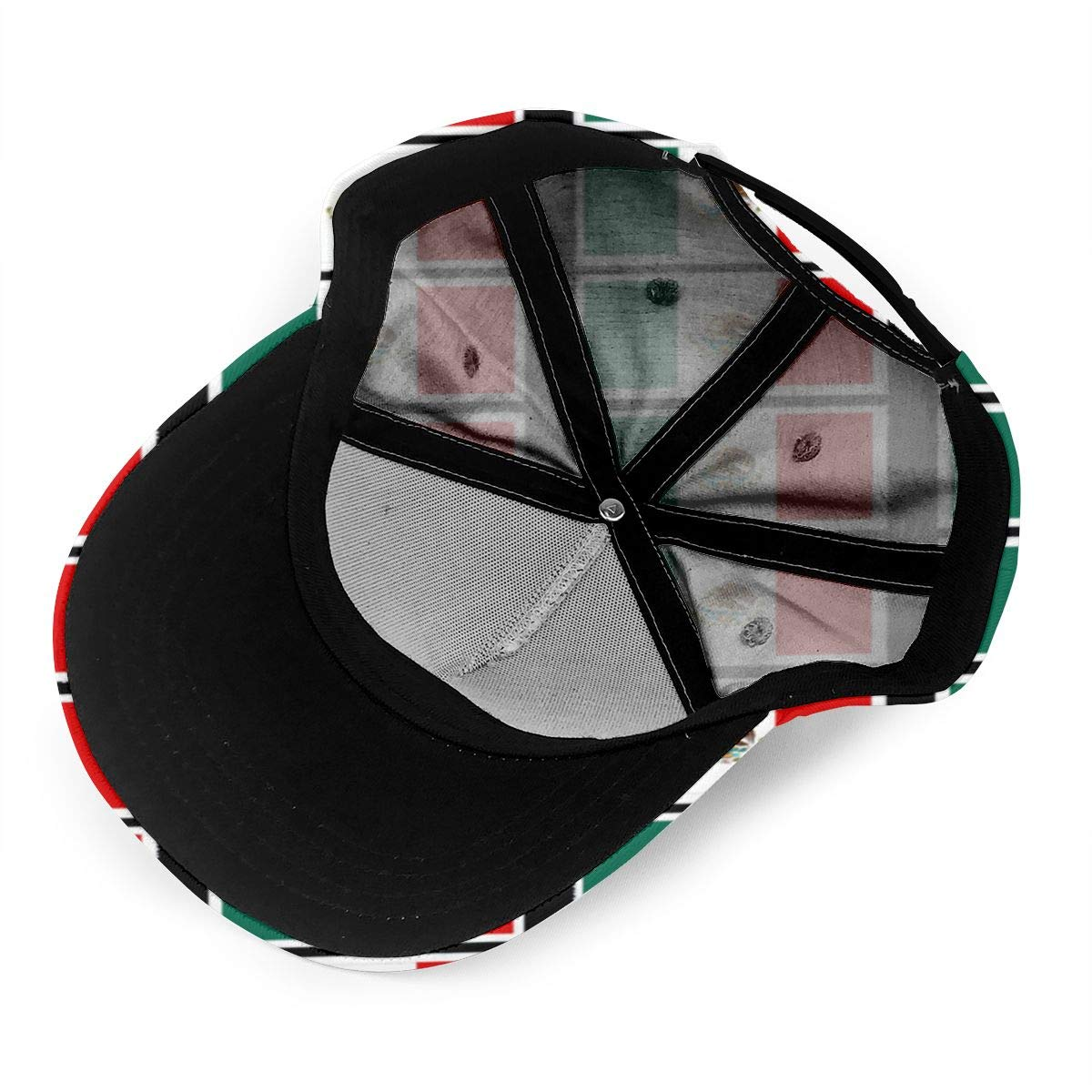 Coloring Pages Mexican Flag Printable Unisex Baseball Cap Classic Adjustable Plain Cap