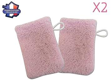 Modulit - Lot de 2 petits gants de toilette d apprentissage pour bébé enfant  ( 081d04e78c9