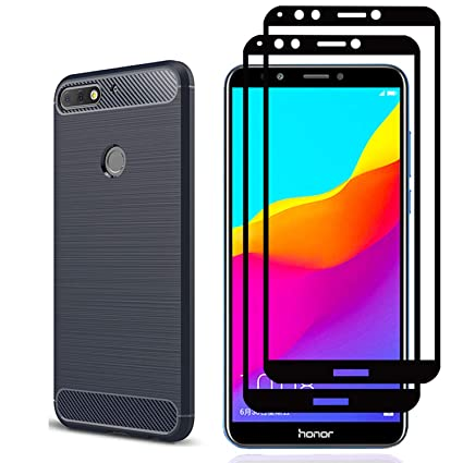 quality design 2feab 36354 Huawei Mate SE Case,Honor 7X Case, With Huawei Mate SE 3D Screen Protector.  CJ Sunshine (3 in 1)[Scratch Resistant Anti-fall] Ultra Thin Soft Silicone  ...