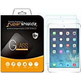 (2 Pack) Supershieldz for Apple iPad Mini 3, iPad Mini 2 and iPad Mini (1st Generation) Tempered Glass Screen Protector, Anti