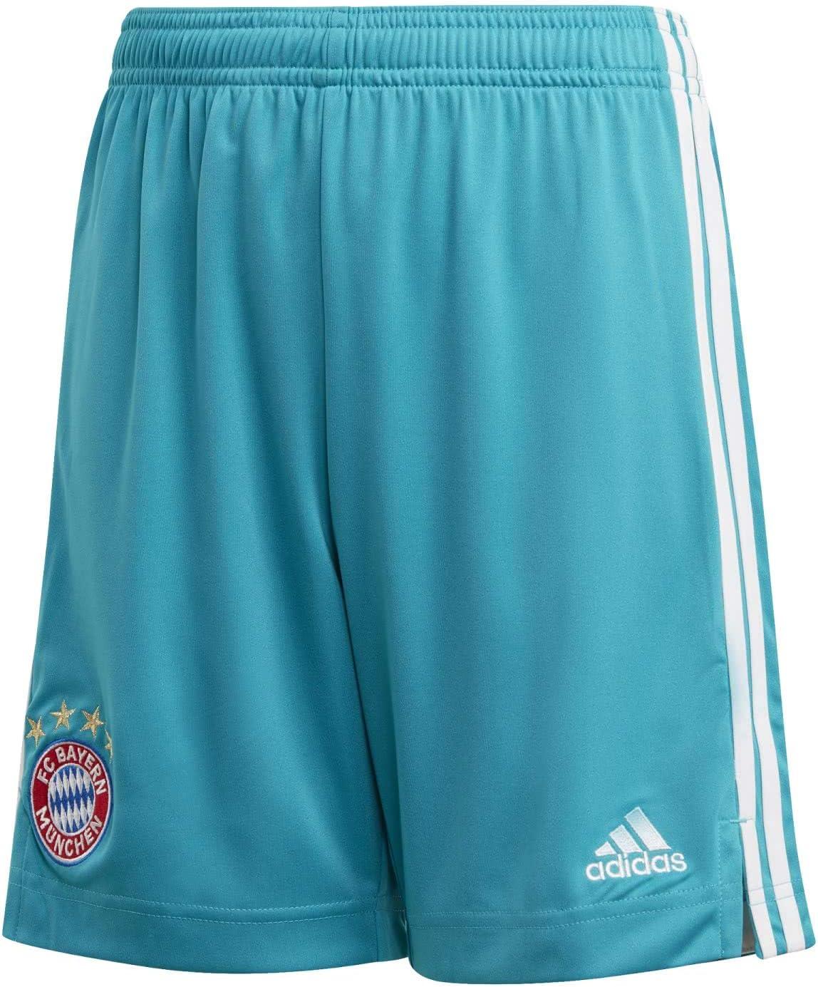 adidas 2020-2021 Bayern Munich Home Goalkeeper Shorts (Green)