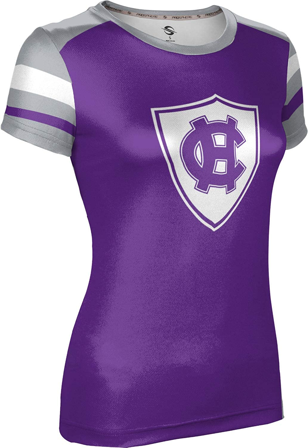 ProSphere The College of The Holy Cross Girls Performance T-Shirt Old School