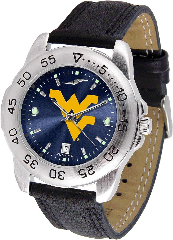 West Virginia Mountaineers - Men's Sport AnoChrome Watch