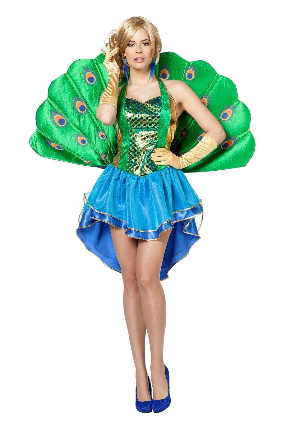 Wilbers 4827 Pfau Kostüm Damen-36