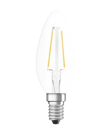 Osram Retrofit Cl Bombilla LED E14, 1.4 W, Blanco