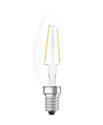 Osram Retrofit Cl Bombilla LED E14, 1.1 W, Blanco