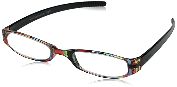 d6e8b489493b Image Unavailable. Image not available for. Color: Wink Expressions Stripe  Reading Glasses ...