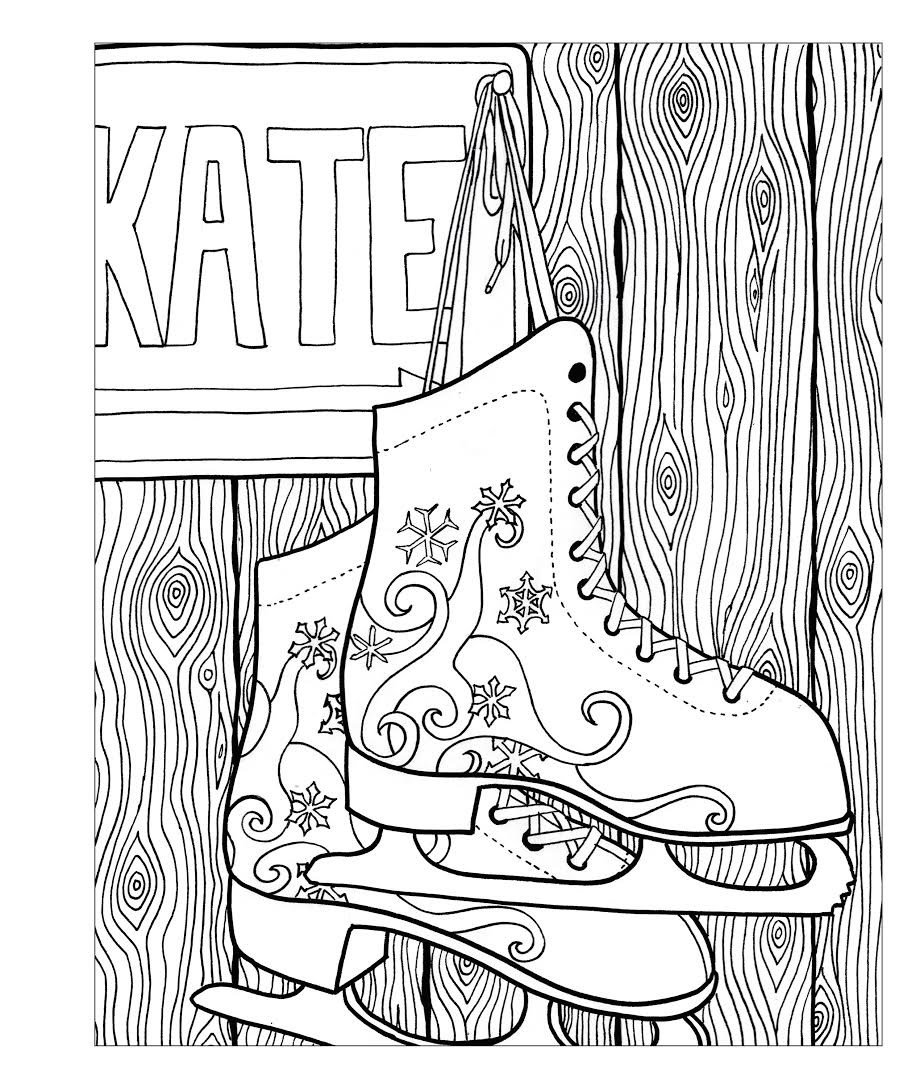 Coloring Pages For Winter Wonderland. Amazon com  Zendoodle Coloring Winter Wonderland Seasonal Delights to Color and Display 9781250108807 Jodi Best Books
