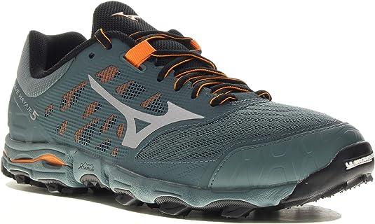 Mizuno Wave Hayate 5, Zapatillas de Running para Asfalto para Hombre, Gris (Stormy Weather/Silver/Oriole 03), 42 EU: Amazon.es: Zapatos y complementos