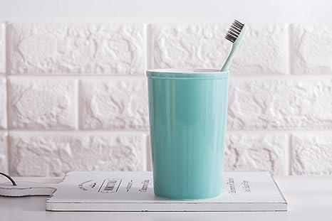 PEIWENIN-Cuarto de baño Simple copas de enjuague Cepillo de cerámica copas Creative parejas Cepillo
