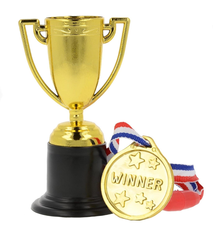 7aaba5c6c Storm&Lighthouse 24x Medallas y trofeos de plástico - Rellenos para bolsas  de fiesta/premios en
