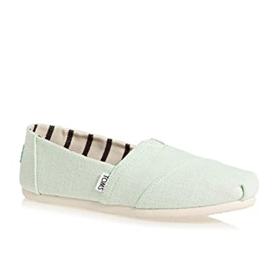 TOMS Alpargata Venice Slippers Women white Damen