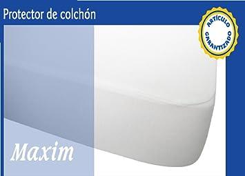Protector de colchon transpirable e impermeable (135 X 190/200): Amazon.es: Hogar