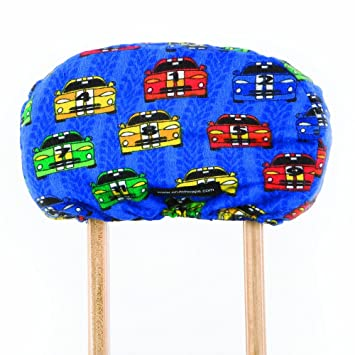 Crutch Caps Children Underarm Crutch Pads, Royal Bllue/Red/YellowithGreen/Black/