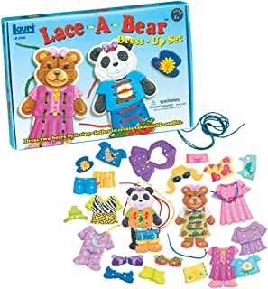 product image for Lauri Lace-A-Bear Dress-Up Set