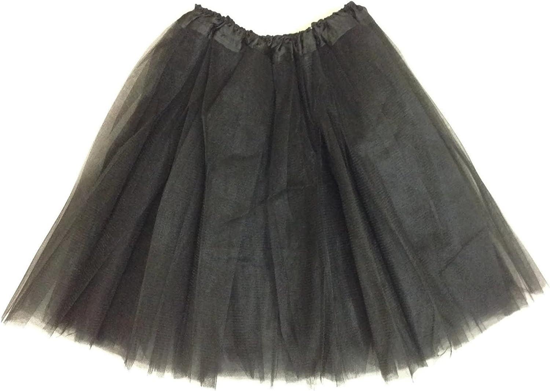 KWC – Princess Dance Costume Ballet Warrior Dash Fun 5K Run 3-Layer Skirt Tutu