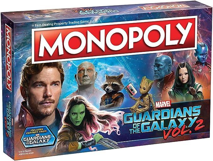 Monopoly Marvel Guardians of The Galaxy 2 Edition: Amazon.es: Juguetes y juegos