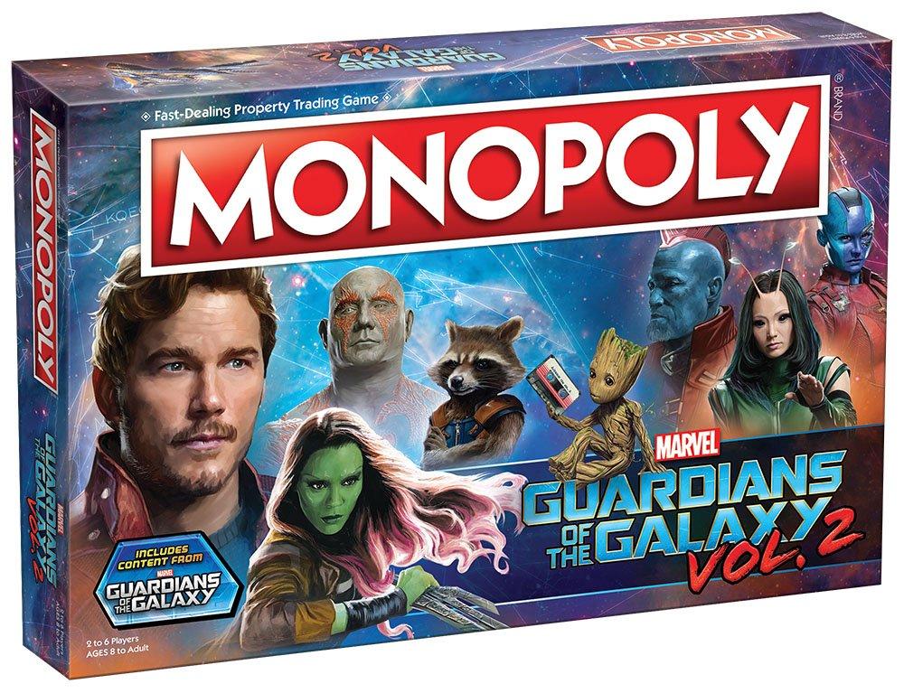 a67f5d109bd1 Monopoly Marvel Guardians of The Galaxy 2 Edition  Amazon.fr  Jeux et Jouets