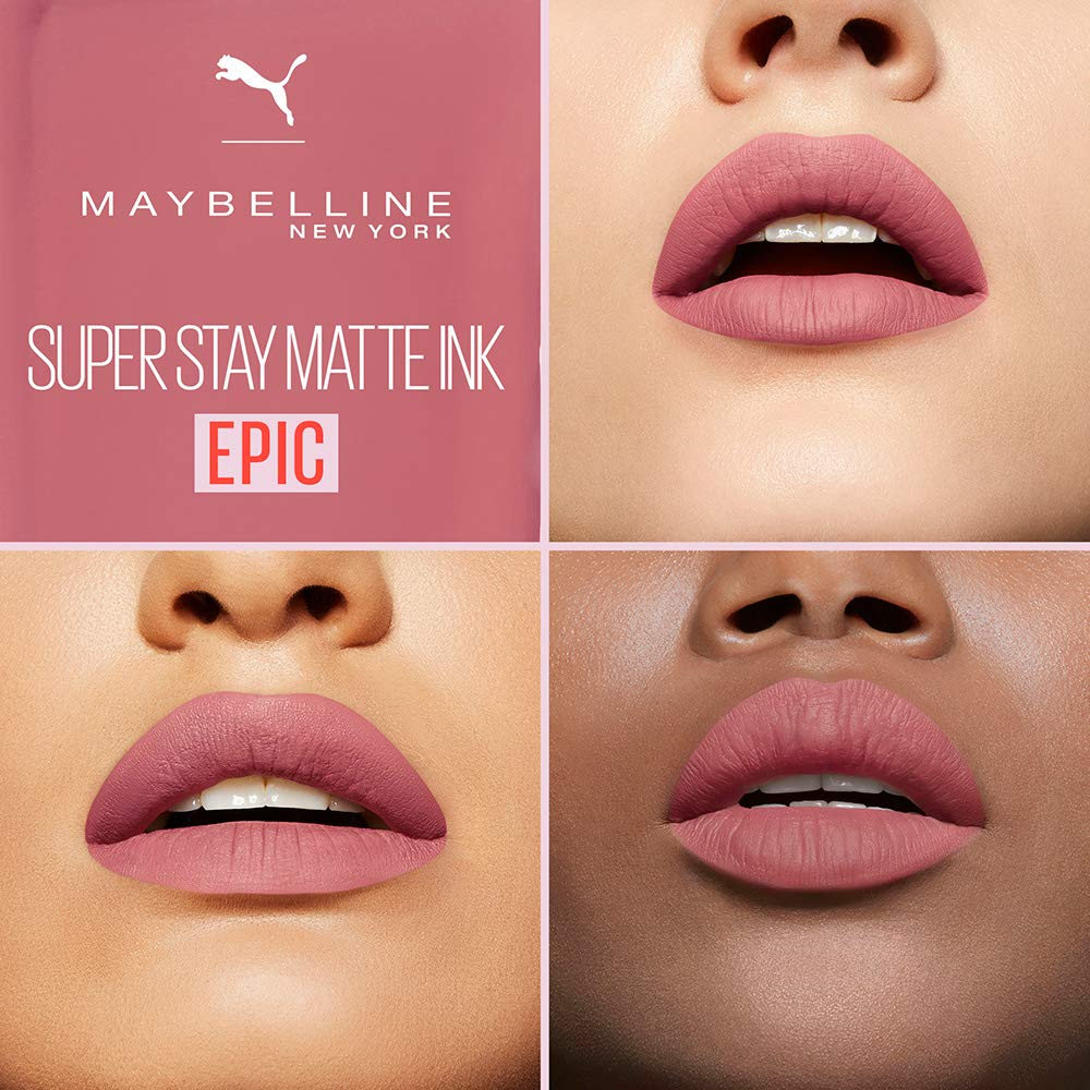 ce9aeb99acc Maybelline New York Puma X Maybelline Superstay Matte Ink Liquid Lipstick,  5 milliliters: Amazon.ca: Beauty