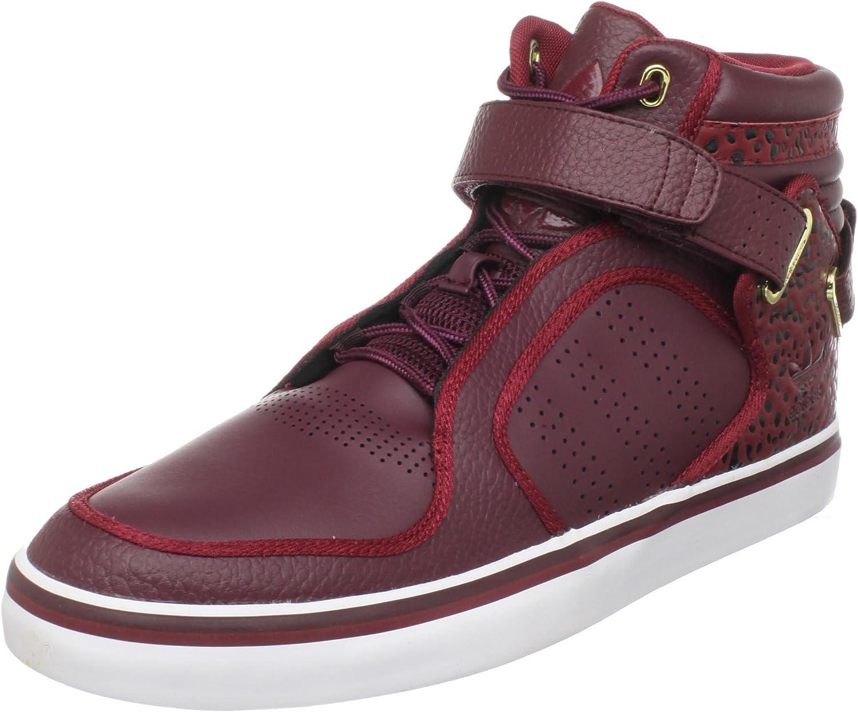 Rancio freír Fácil de comprender  Amazon.com | adidas Originals Men's adi-Rise Mid Sneaker, Light  Maroon/Cardinal/White, 4 M US | Fashion Sneakers