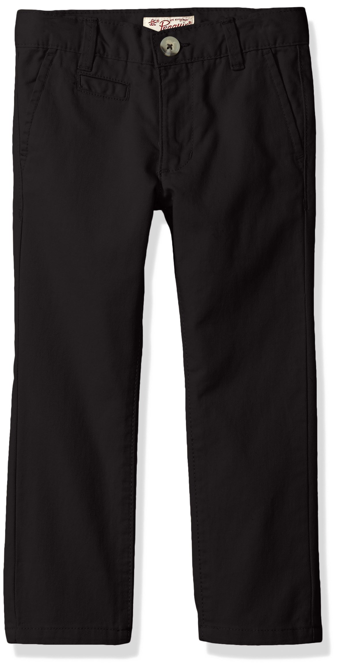 Penguin Big Boys' Twill Pant (More Styles Available), Black, 14