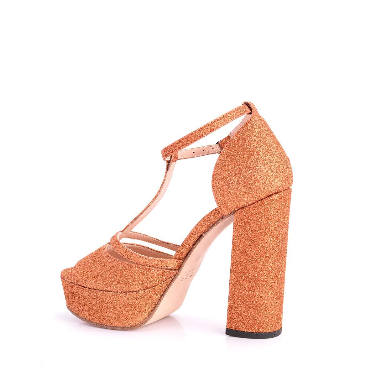Sandalo 291b3a Bronzo Gamay Glitter Pinko HwXaAH