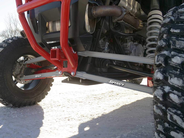 18mm SuperATV Boxed Rear Radius Arms//Rods for Polaris RZR XP Turbo//XP 4 Turbo - 4X Stronger Than Stock! Voodoo//Velocity Blue